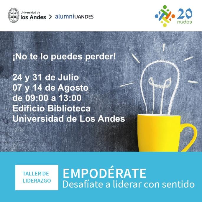 LOS DEJO INVITADOS A ESTE INTERESANTE TALLER DE LIDERAZGO! IMPERDIBLE!